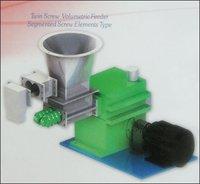 Twin Screw Volumetric Feeder Segmented Screw Elements Type