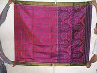 Rani With Pink Color Saree