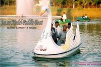 Swan Model Paddle Boat Rides