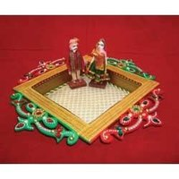Decorative Tray With Bride And Groom