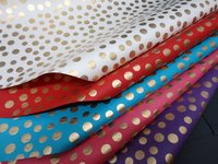 Handmade Papers Sheets - Polka Dots