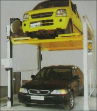 Step Stacker Type Parking System