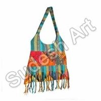 Blue Ethnic Handcrafted Bag