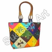 Multi Colored Ethnic Handcrafted Bag