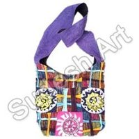 Printed Shoulder Hippie Bag