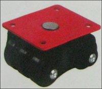 Premium Revolving Sixer Black Plate Castor Wheels