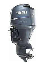 Four Stroke In-Line Outboard Motor (Yamaha F150TLR)