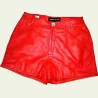 Women Leather Shorts