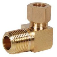 Brass Elbow Connector