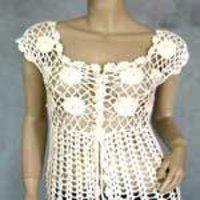 Fashionable Crochet Ladies Top