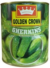 Canned Gherkins