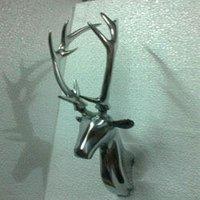 Designer Aluminum Deer Head