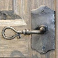 Wrought Iron Door Handles
