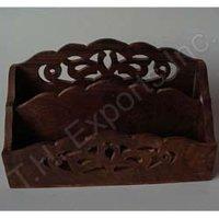Decorative Wooden Letter Rack