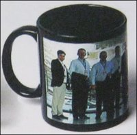 Black Jet Mug Photo Printing Services