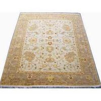 Hand Knotted Oushak Carpet