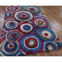 Handmade Felted Wool Carpet
