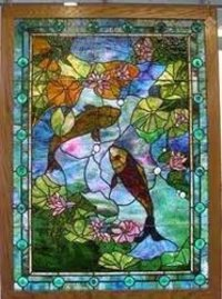 Custom Stained Glass Panels