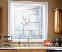 Durable Stained Glass Window Panel