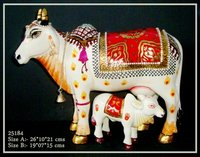 Marble Hand Painted Cow