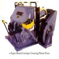 Creasing Platen Press