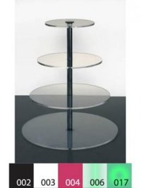 Four Level Acrylic Product Display Stand