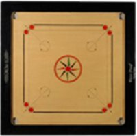 Carrom Board With Round Pocket