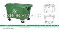 Plastic Industrial Waste Bins Injection Moulded 1100 Ltrs.