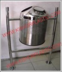 Stainless Steel Commercial Hanging And Pole Dustbin