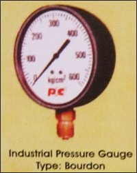 Bourdon Type Industrial Pressure Gauges