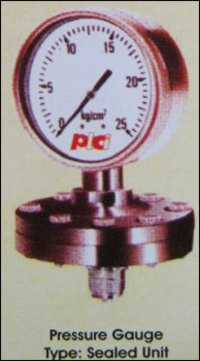 Sealed Unit Type Pressure Gauges