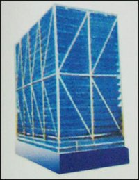 Fan Less And Fill Less Induced Draft Cooling Towers