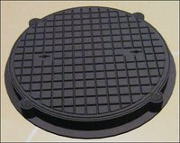 Circular Type Manhole Cover With Circular Frame