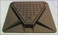 Single Triangular Manhole Cover With Frame