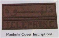 Telephone Manhole Cover Inscriptions