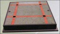 Tiles Filled Manhole Cover