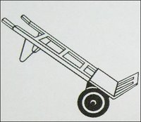 Paper-Wooden And Sack Trolley (Model No 512)
