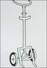 Two Wheeled Drum And Barrel Truck (Model No 525)