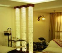 Attractive Glass Pillar