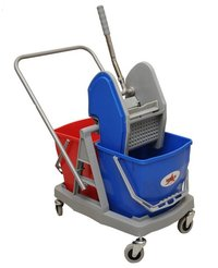 Double Trolly For Cleaning