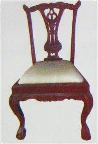 Teak Wood Carved Chair