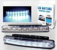 Car Daytime Running 8 LED Light Super Bright