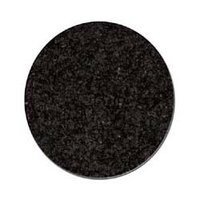 Impala Black Granite Round Table Tops