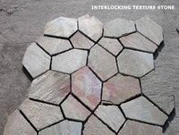 Floor Interlocking Texture Stone