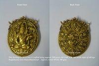 Kundan Meena Antique Pendant