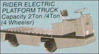 Rider Electric Platform Truck (4 Ton)