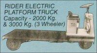 Rider Electric Platform Truck