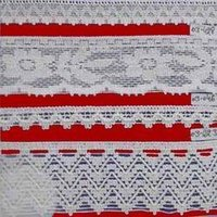 Skin-Friendly Knitted Lace