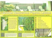 Eco Screen Plastic Lattice
