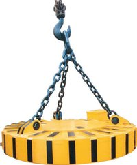 Magnalift Circular Electro Magnetic Lifter Heavy Duty Series